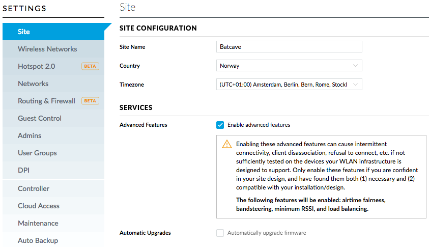 How to enable Airtime Fairness on Ubiquiti (UniFi) APs