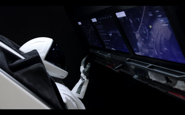 SpaceX – Crew Training ISS Docking Simulator