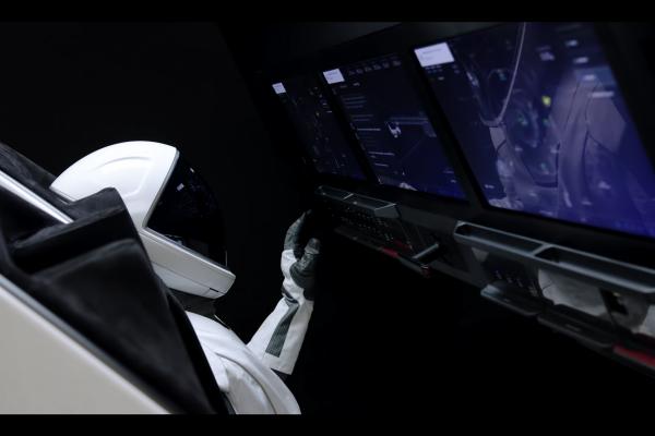 SpaceX - Crew Training ISS Docking Simulator
