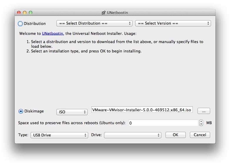 make vmware iso bootable usb mac