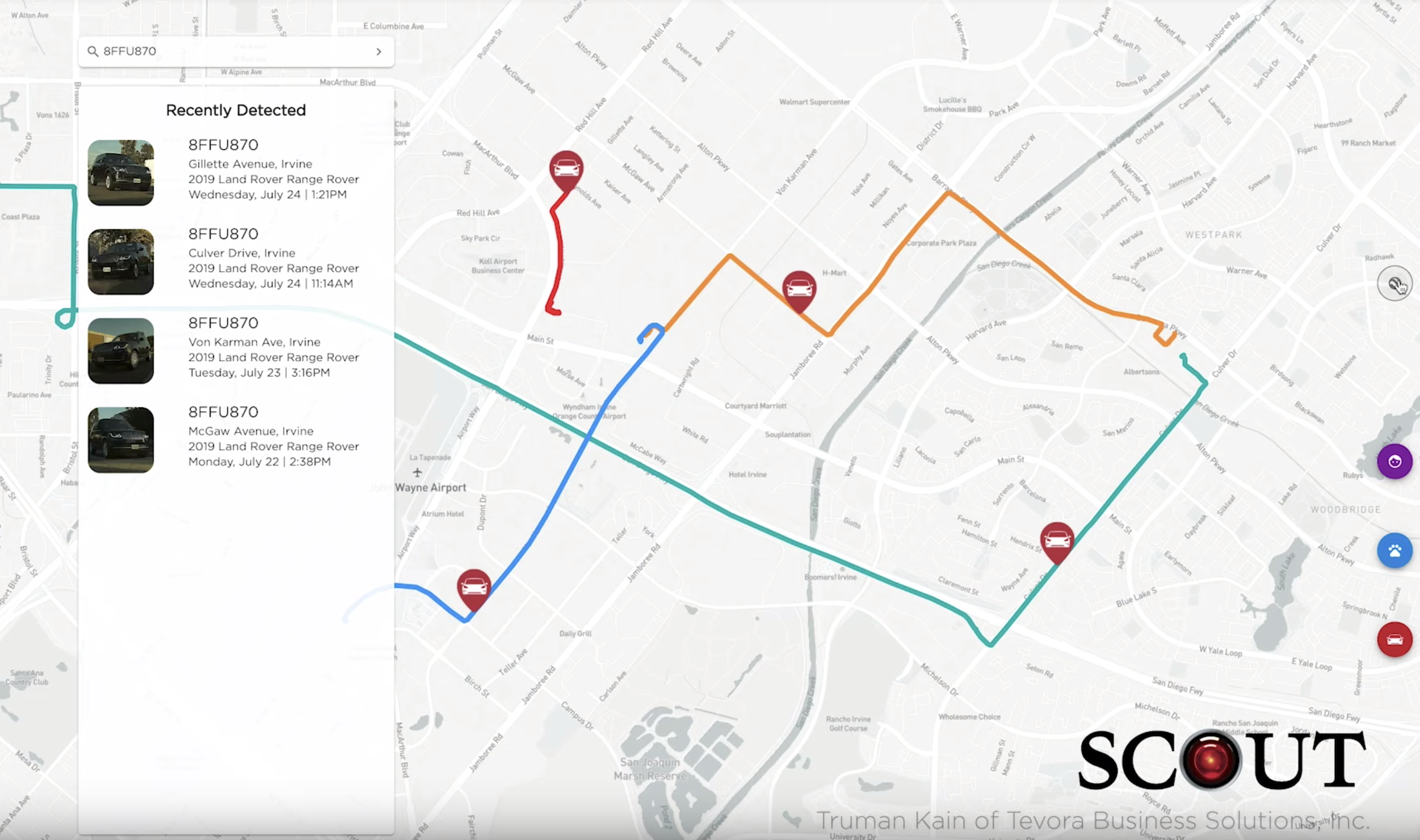 Surveillance Detection Scout – Your Lookout on Tesla Autopilot