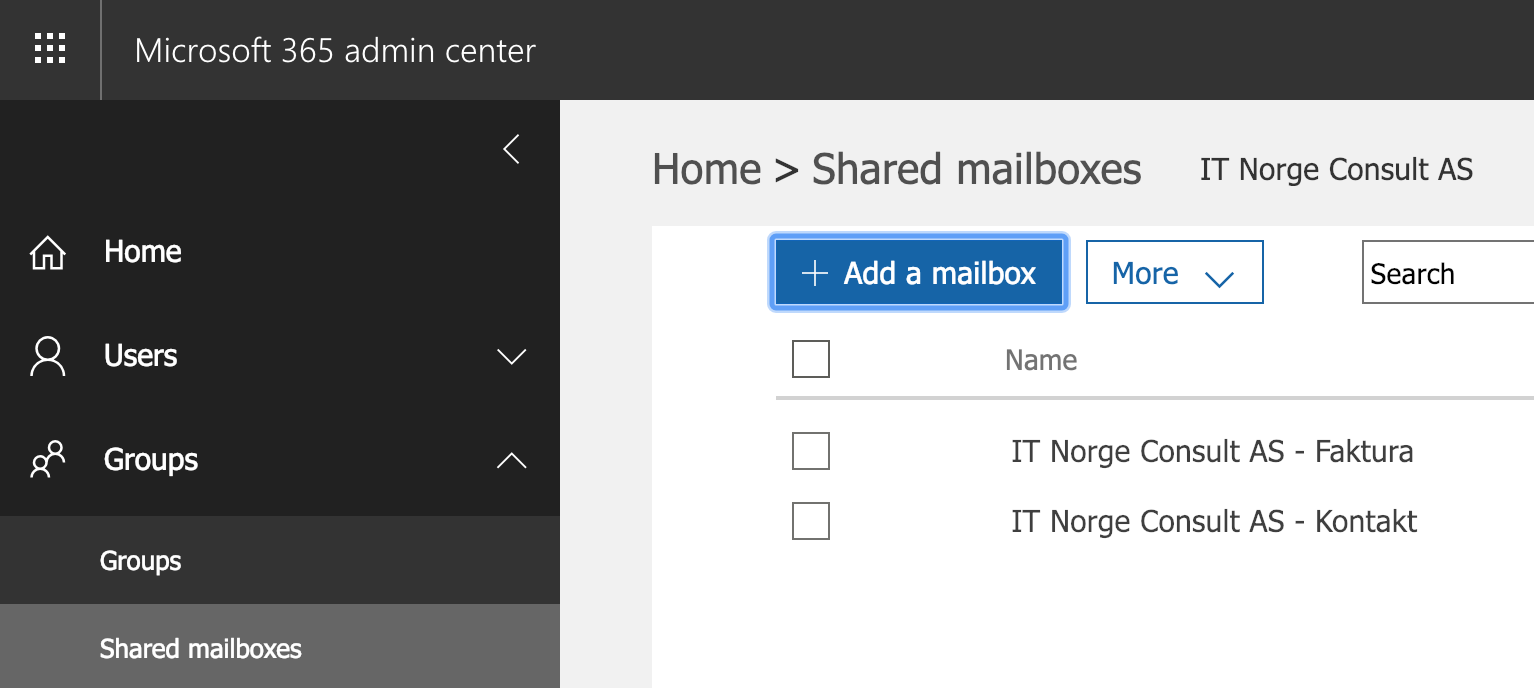 Setting up a Shared Mailbox from Office 365 on a mobile device (without using IMAP)