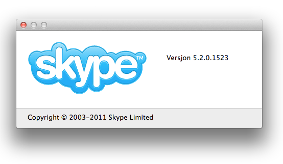 Downgrade Skype from 5.3 to 5.2 Mac OS X